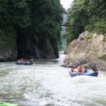 Dos Montañas is a great place to hang out after intense rapids on the Pacuare River in Costa Rica