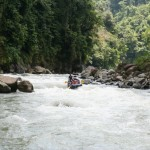 Enjoy the beautiful valleys of the Pacuare River as you go rafting!