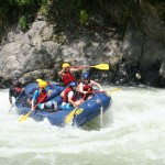 Pacuare river rafting in Costa Rica is excellent.